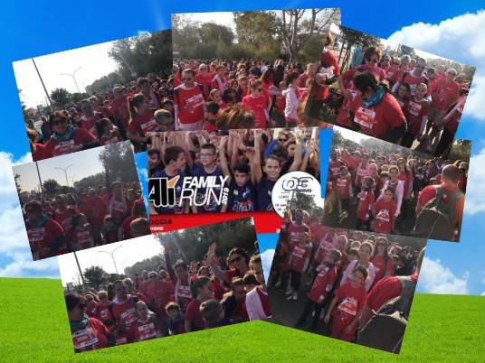 collage foto family run 2019