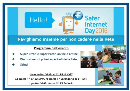 Programma dell'internet day